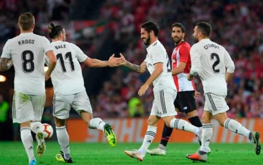 Real Madrid Celebrating