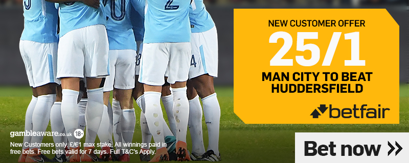 man city enhanced odds this weekend