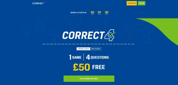 Coral Free Bets For Existing Customers