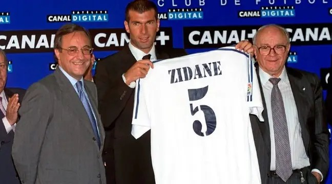 Zinedine Zidane Joins Real Madrid From Juventus
