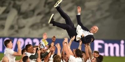 Real Madrid 2020 La Liga Champions