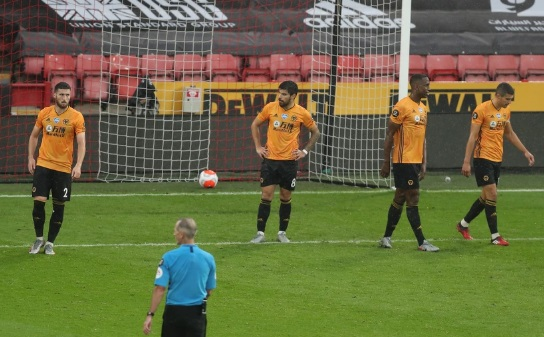 Wolves Champions League hopes ended with 1-0 defeat to Sheffield United