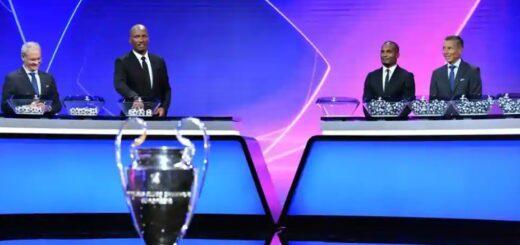 2020/21 Champions League Draw