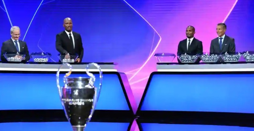 2020/21 Champions League Draw