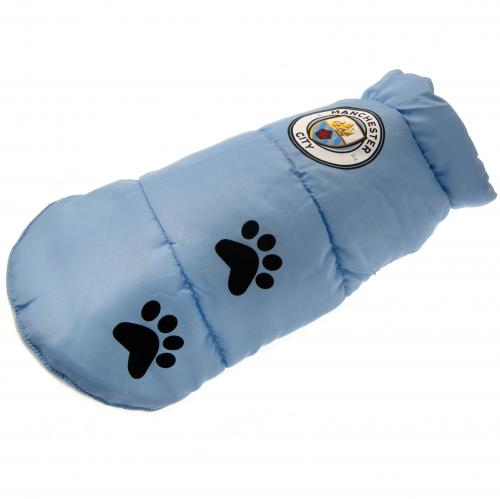 Manchester City Medium Dog Coat