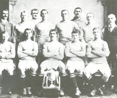 Manchester City team in 1904