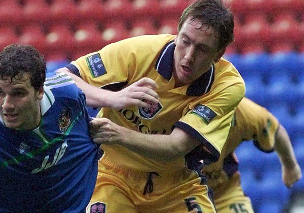 David Tuttle in action for Millwall.