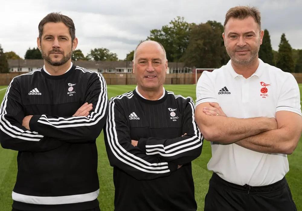 Jeff Lamb, Derek Sweetman and Paul McGrotty. Photo: Neil Graham.
