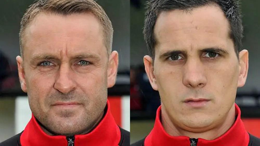 Steve Nebbett and Danny Oliphant. Photos: Connor Sharod-Southam.