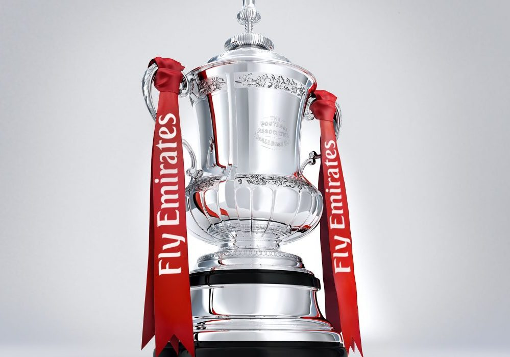 When are the draws for the 2017/18 FA Cup, FA Trophy and FA Vase?