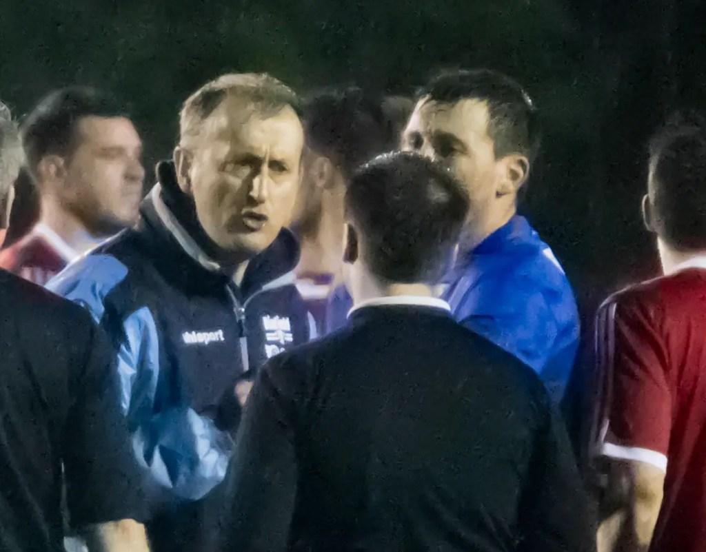 Binfield FC manager Roger Herridge. Photo: Neil Graham.