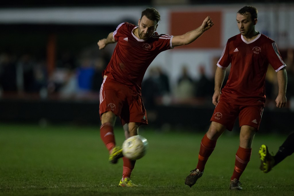 Watch: Adam Cornell's third goal against Wokingham