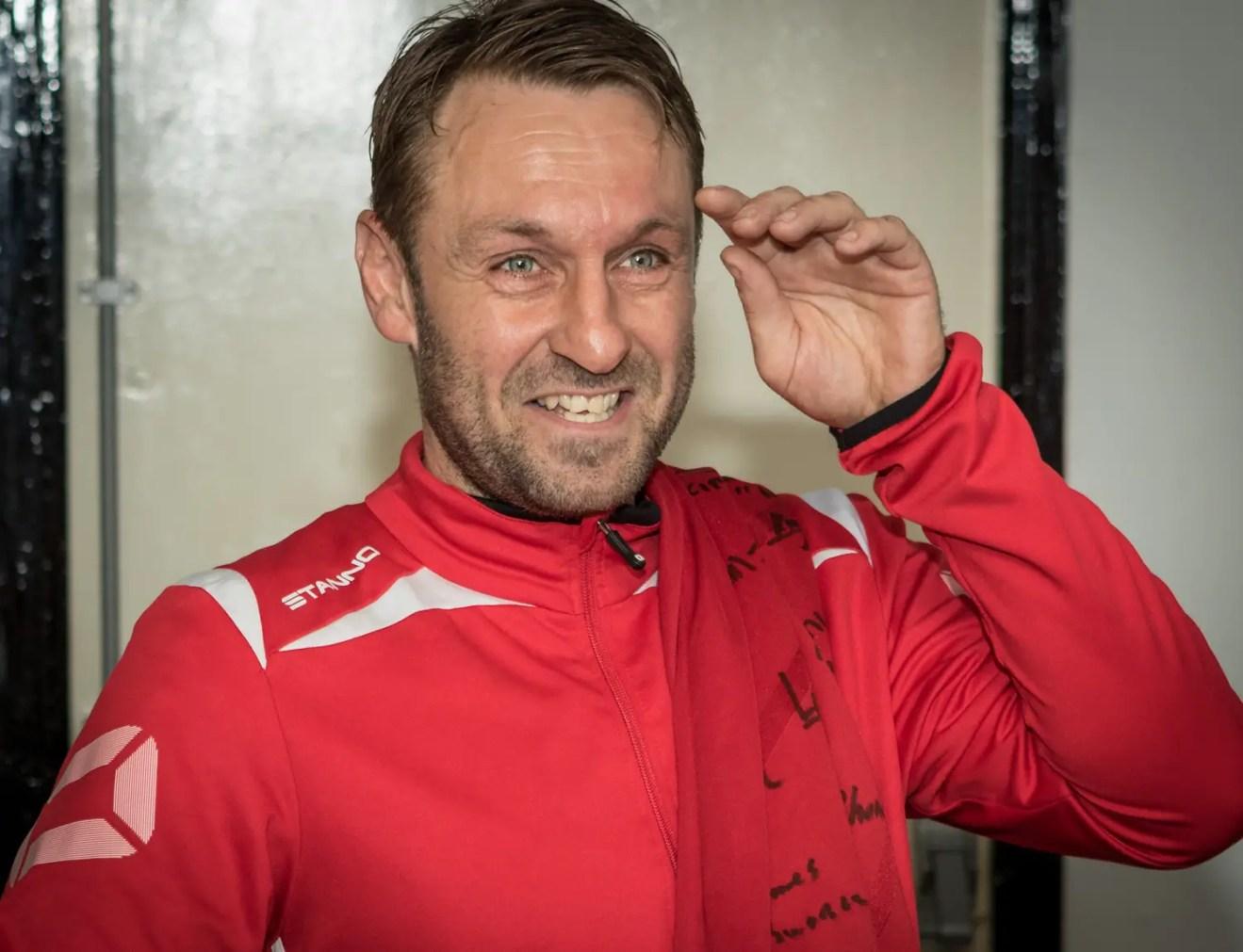 Bracknell Town assistant manager Steve Nebbett. Photo: Neil Graham.