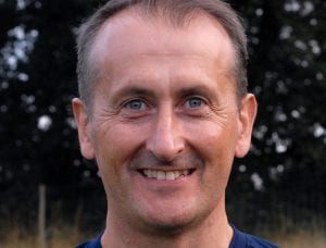 Binfield FC manager Roger Herridge. Photo: Colin Byers.