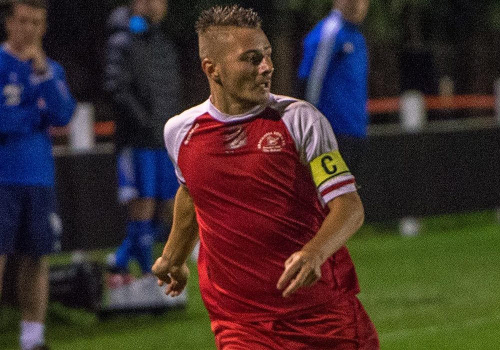 Former Bracknell Town captain Jake White. Photo: Connor Sharod-Southam.