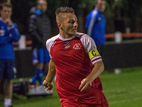 Jake White's equaliser sends Woodley United on the way to penalty shoot out victory