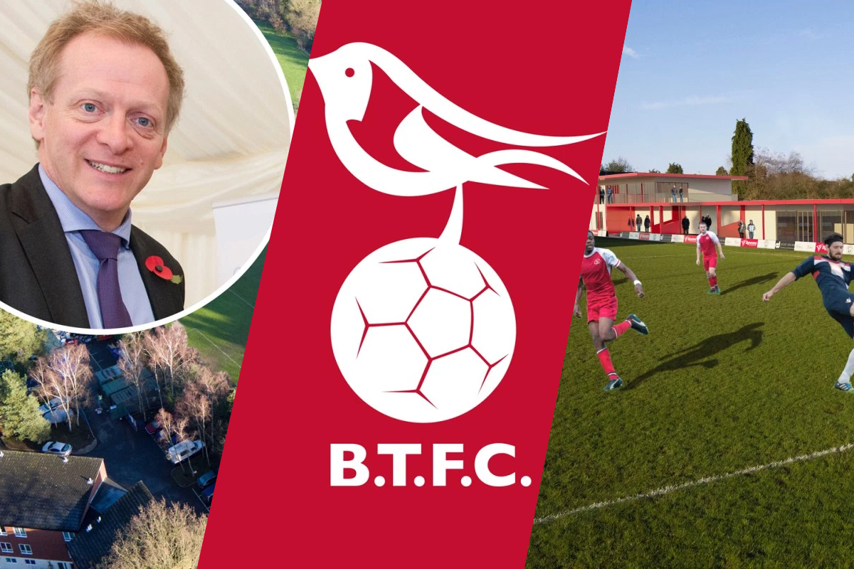 Bracknell Town: Debt free, redevelopment and new logo – all you need to know