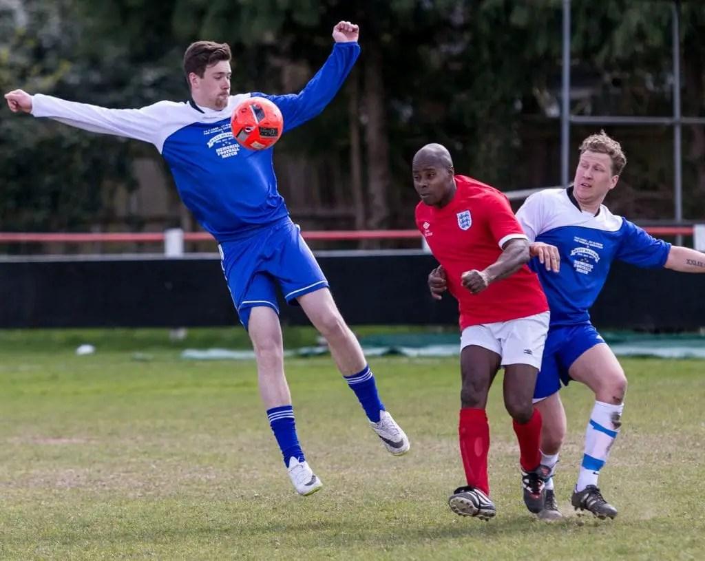 Match action. Photo: Neil Graham.