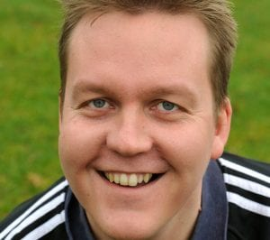 Finchampstead Football Club manager Jon Laugharne. Photo: getreading.co.uk