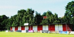 The Quinton Stand at Larges Lane Bracknell Town FC