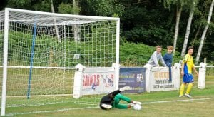 Ben Knight looks on for Ascot United. Photo: Mark Pugh.