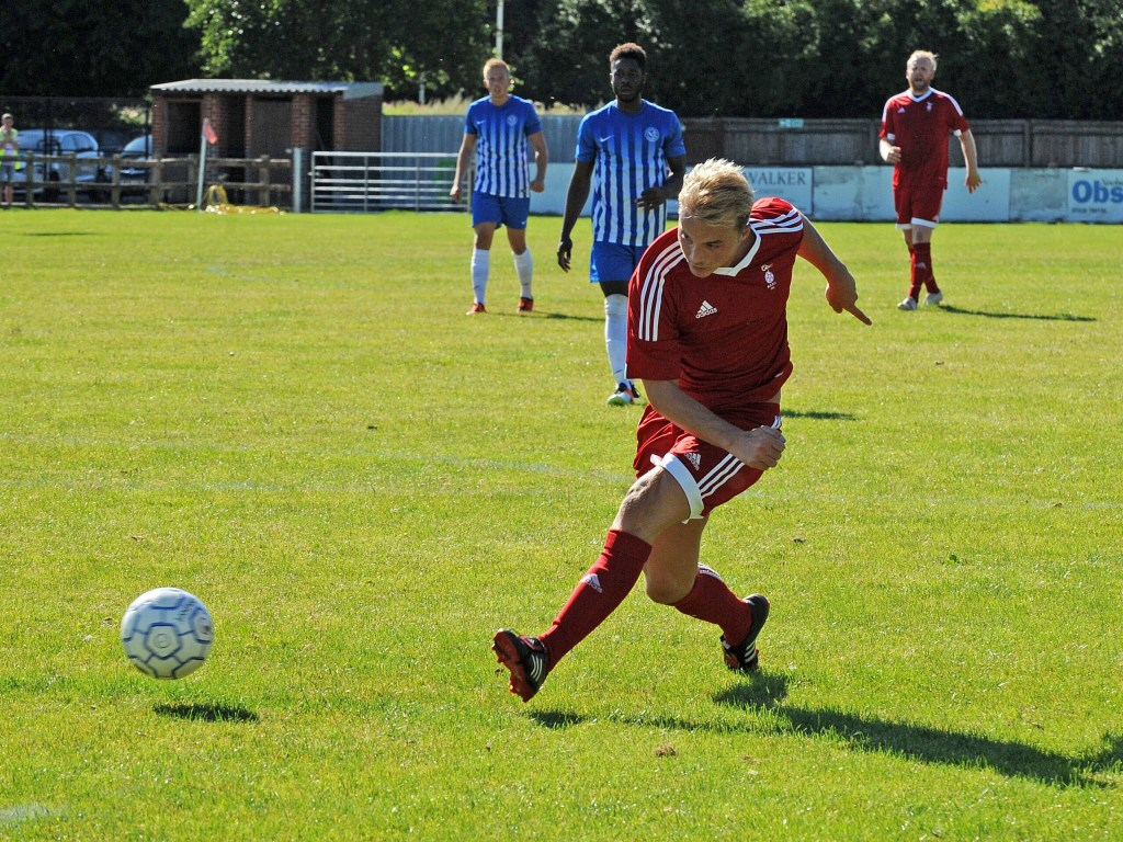 Thatcham Town 2 Bracknell Town 3: Cornell wins five goal FA Cup thriller