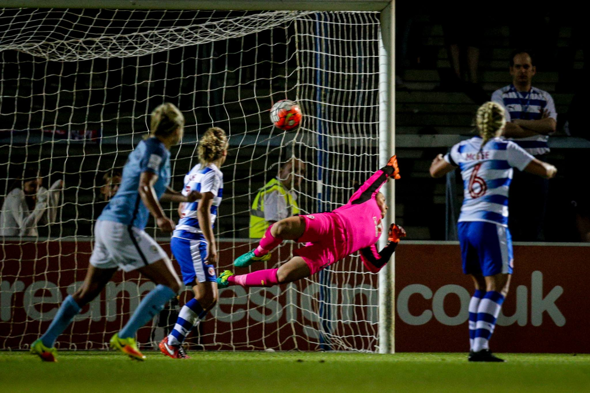 STRIKE! Watch Toni Duggan's strike that sunk Reading FC Women