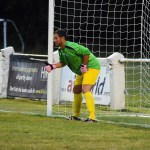 Ascot United manager steps up after goalkeeper sent off