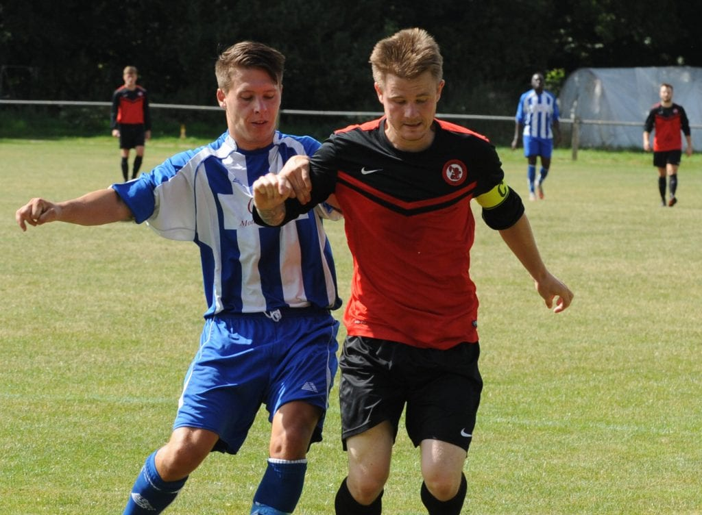 Sandhurst Town captain Danny Turner. Photo: Mark Pugh.