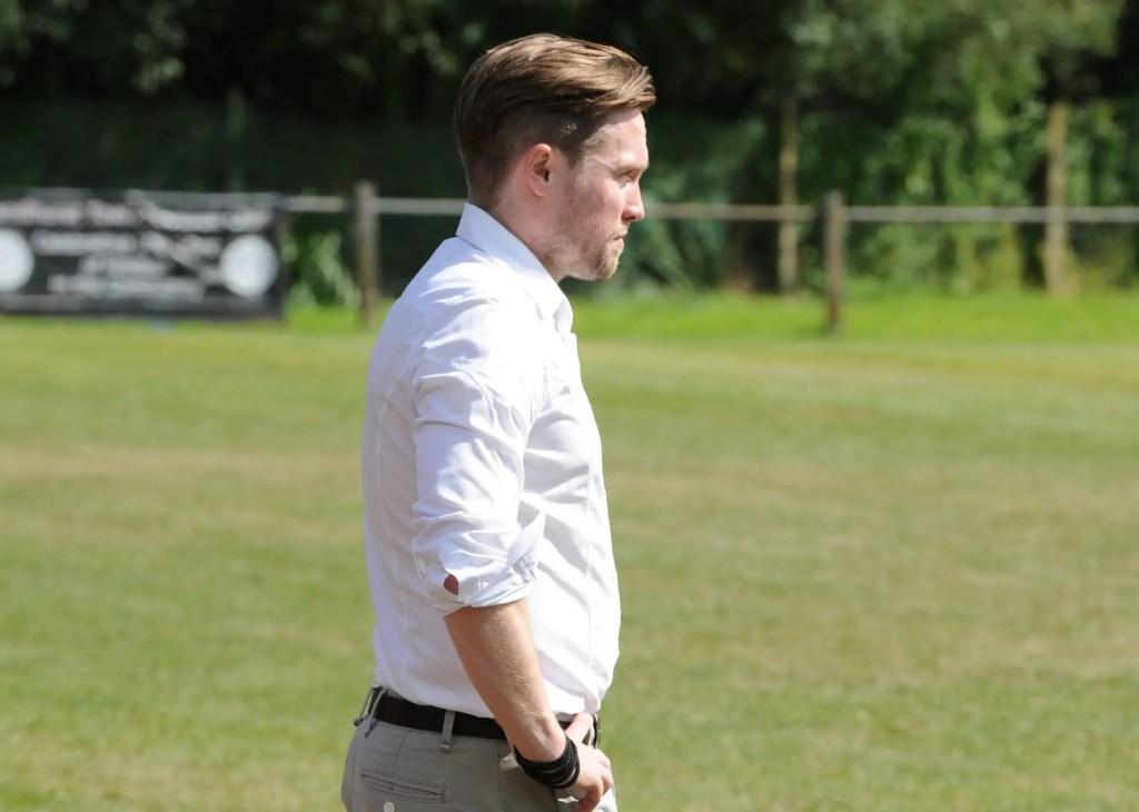 Sandhurst Town manager Luke Turkington. Photo: Mark Pugh.