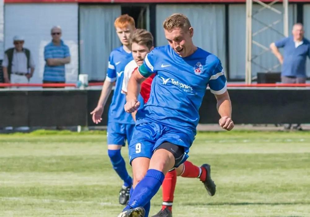 New Bracknell Town signing TJ Bohane. Photo: Neil Graham.