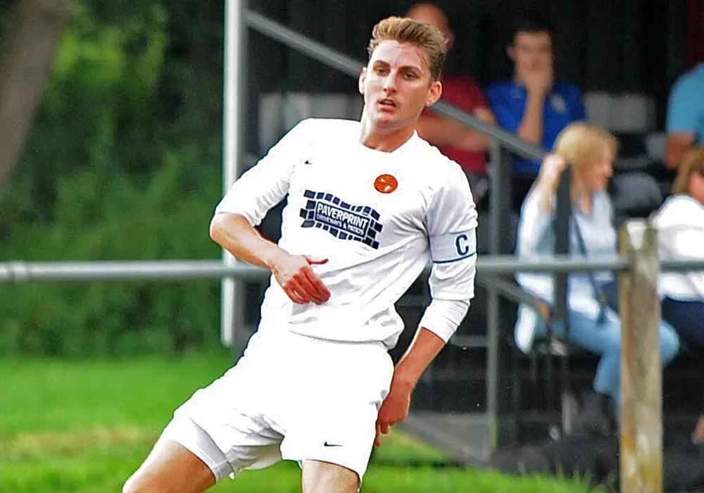 Wokingham & Emmbrook FC captain Will Day. Photo: Mark Pugh.