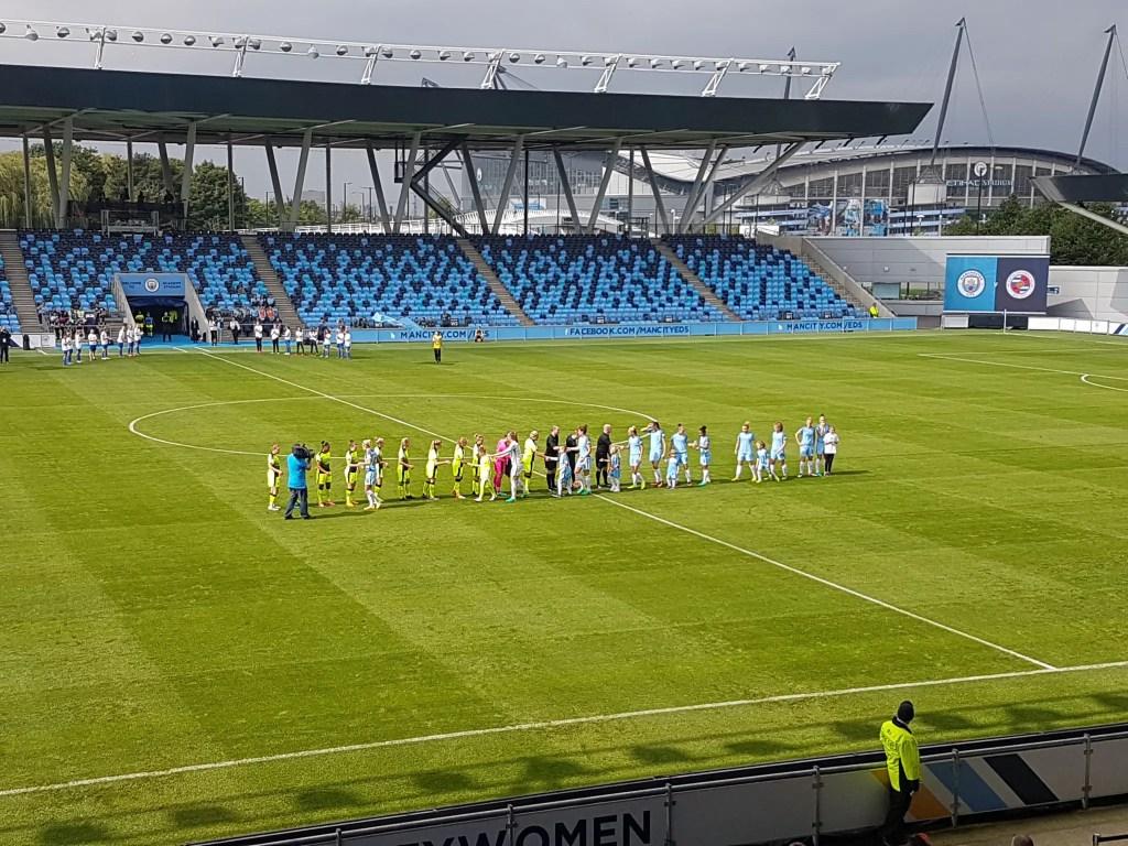 Manchester City Women 2 Reading FC Women 0