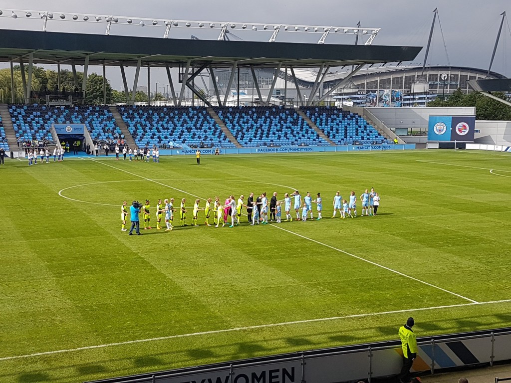 Manchester City Women 2 Reading FC Women 0