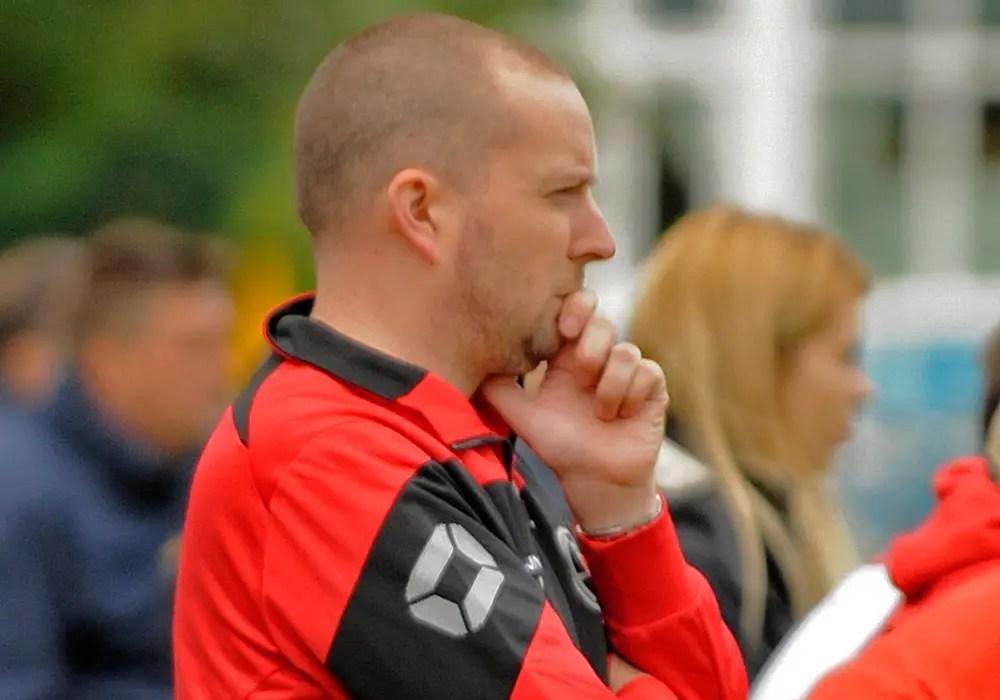 AFC Aldermaston manager Kieran Jennings. Photo: Mark Pugh.