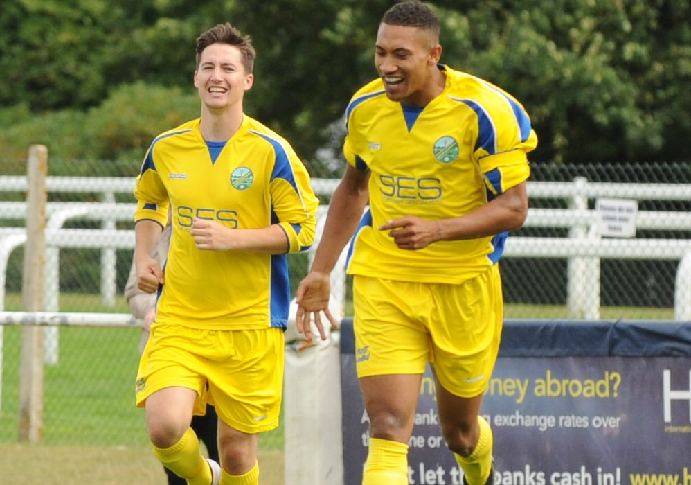 Ben Knight hat trick seals remarkable fight back for Ascot United FC