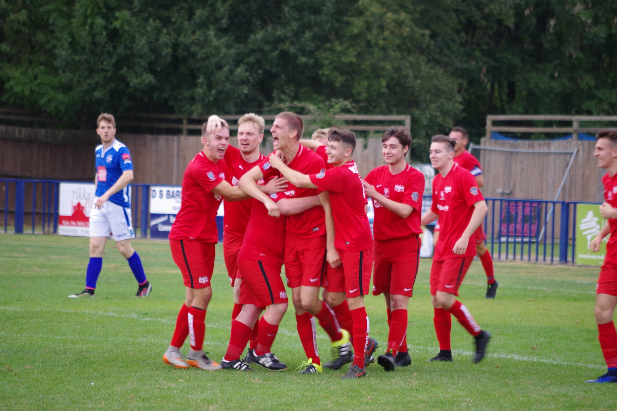 Binfield FC picking up points in Suburban League Premier Division