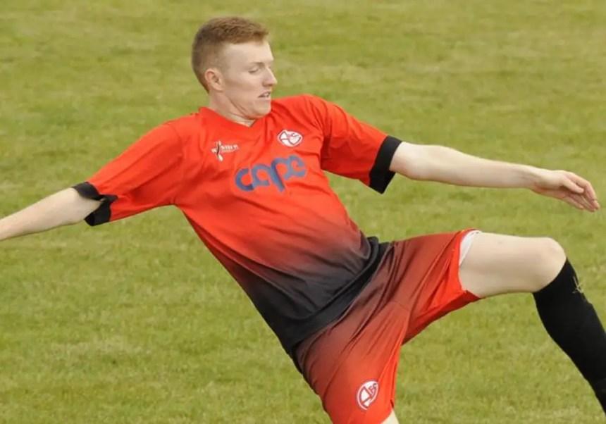 Kai Parton-Edey of AFC Aldermaston. Photo: Mark Pugh.