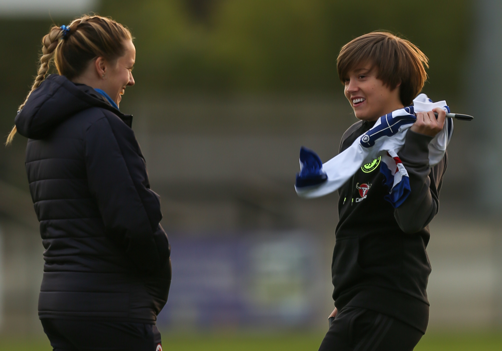 Former Royal Fran Kirby now at Chelsea Ladies. Photo: Neil Graham.