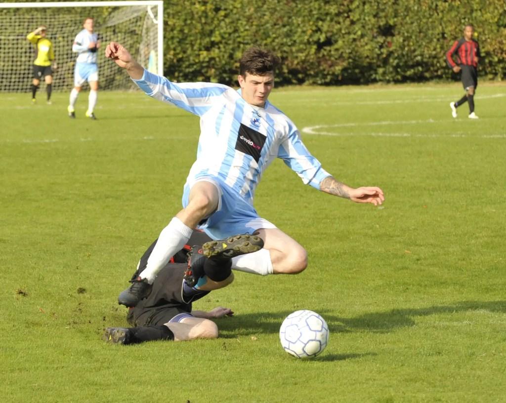 Finchampstead FC's Harry Swabey. Photo: Mark Pugh.