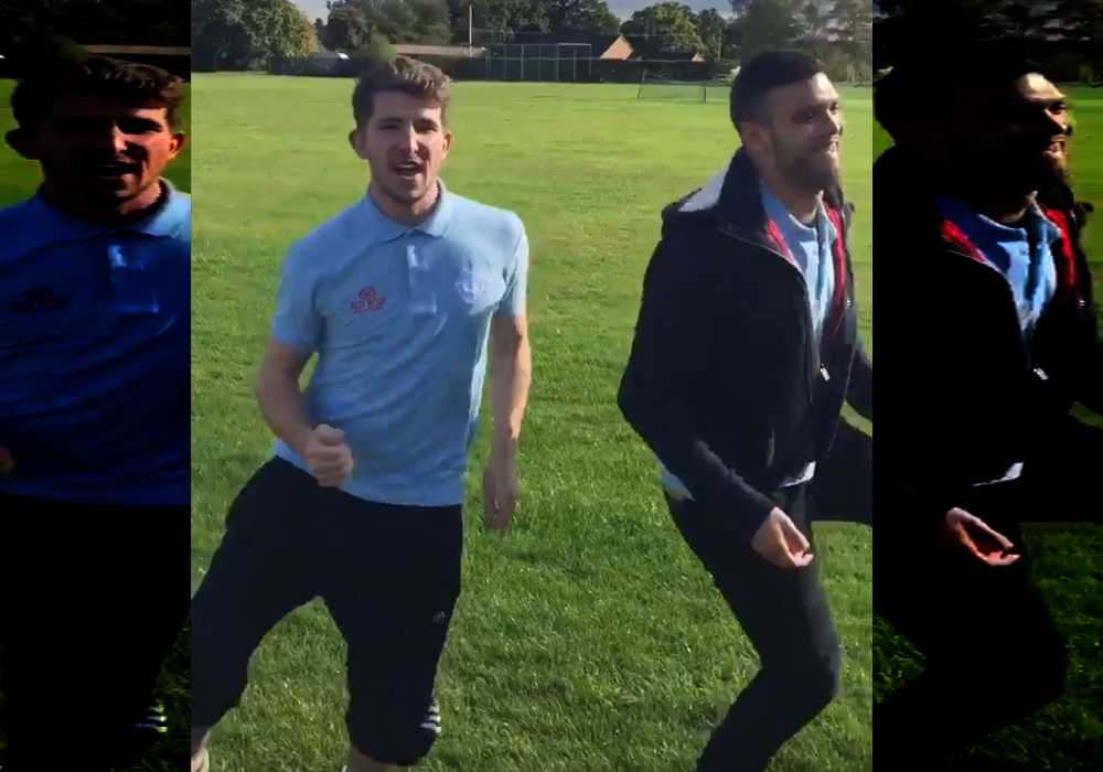 Too late to sorry? – Latest forfeit video from Woodley United and it's a cracker