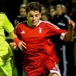 Watch Seb Bowerman's first half penalty that sent Bracknell Town on their way