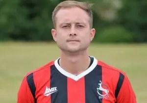 Ben Lawrence of Bracknell Forest. Photo: Bracknell Forest FC.