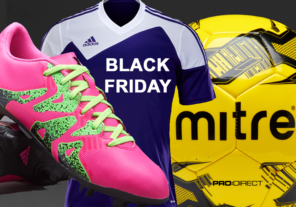 Black Friday deals on football boots, balls and teamwear for kids and adults