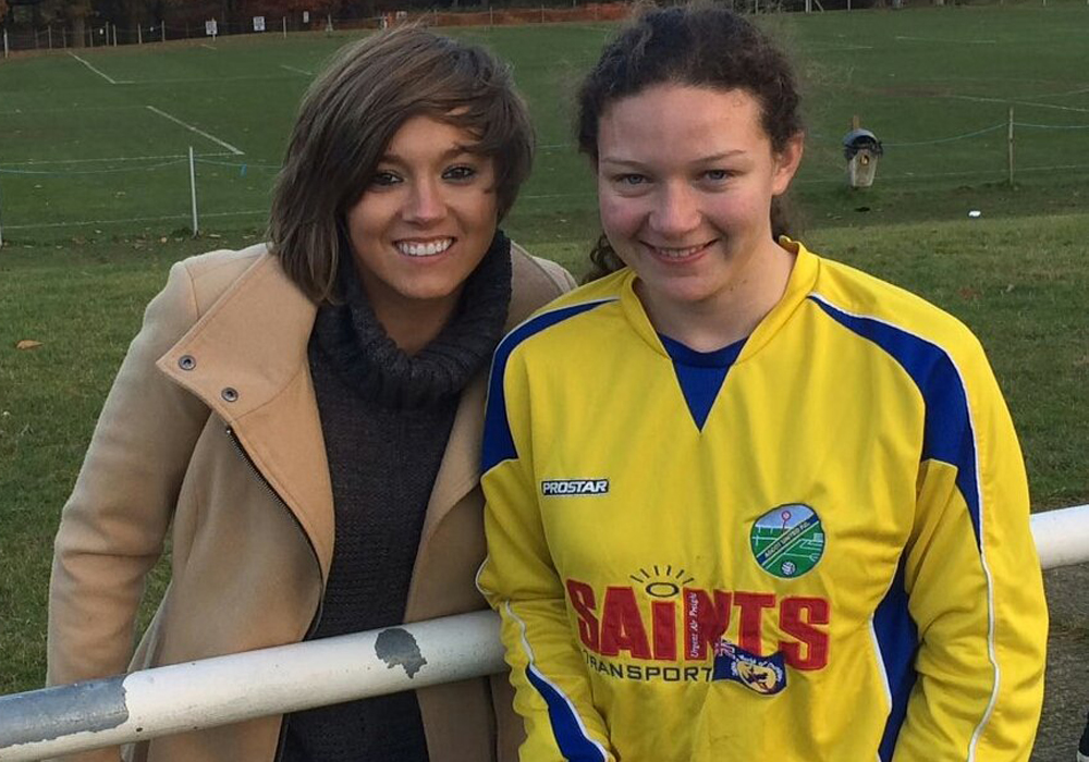 Chelsea and England star Fran Kirby watches on as Ascot United Ladies win big