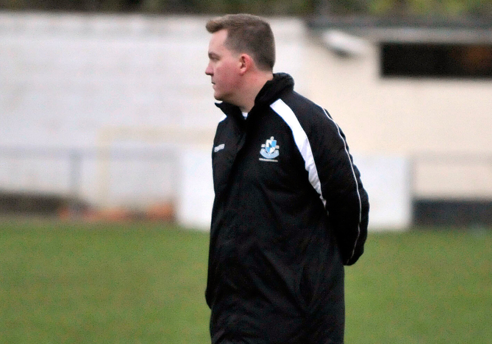 Finchampstead FC manager Jon Laugharne. Photo: Mark Pugh.