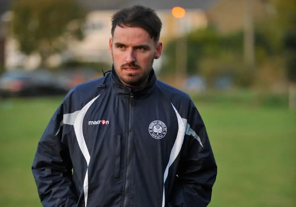Woodley United FC manager Michael Herbert. Photo: Mark Pugh.