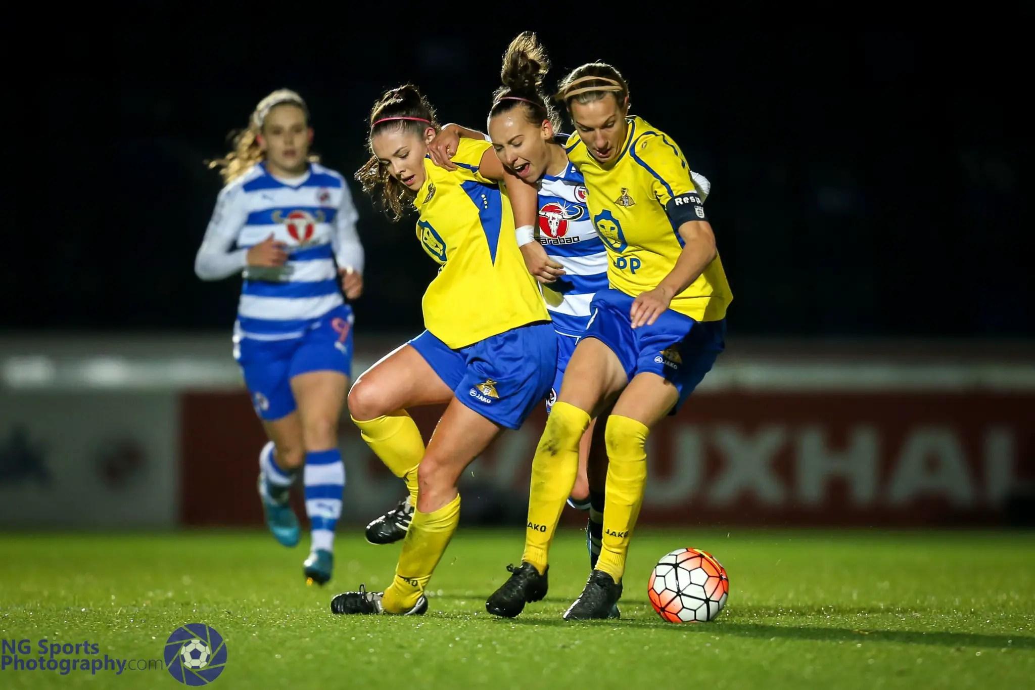 Reading FC Women 0 Doncaster Belles 1: Not quite the fairytale ending