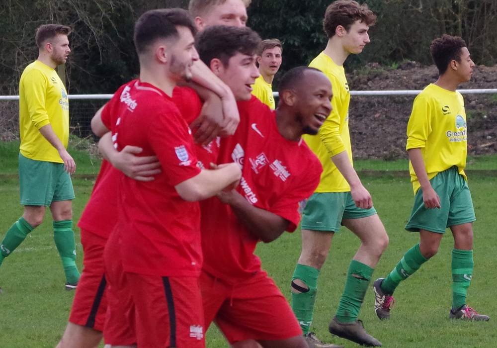 Aaron Rowland double tightens Binfield Reserves grip on top five