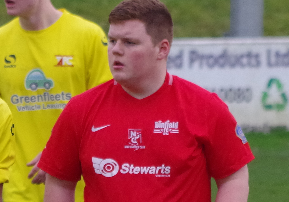 Charlie Craske on target for Binfield in Suburban League win